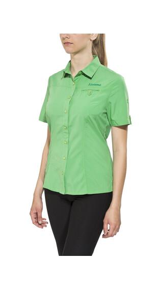 Schöffel Romana UV overhemd en blouse korte mouwen Dames groen